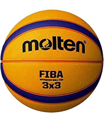 ลูกบาสเกตบอล MOLTEN รุ่น B33T500 (O) สำหรับแข่งขันบาสดกตบอล 3 คน (3x3) หนัง PU พร้อมส่งฟรี !!!