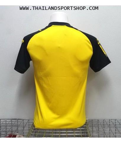 เสื้อกีฬา ยูเรก้า EUREKA รุ่น A5032 (สีเหลือง YA) ตัดต่อ