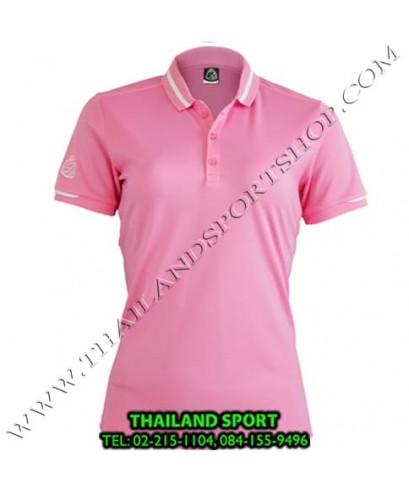 เสื้อ POLO SHIRT อีโก้ EGO SPORT รุ่น EG 6152 (สีชมพู) WOMEN