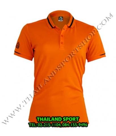 เสื้อ POLO SHIRT อีโก้ EGO SPORT รุ่น EG 6152 (สีส้ม) WOMEN