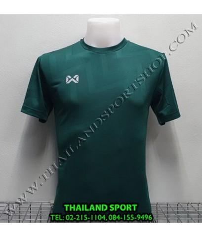 เสื้อกีฬา วอริค WARRIX รหัส WA 1569 (สีเขียว GG) ผ้าทอลาย