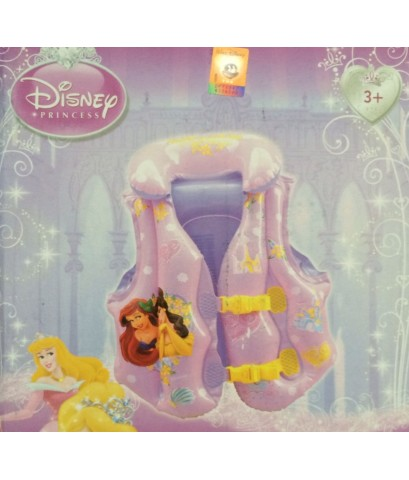 เสื้อห่วงยางลอยตัว Swim Vest Trainer (สำหรับเด็กวัย 3 ขวบขึ้นไป) ขนาด 51x46cm. ลายการ์ตูน PRINCESS