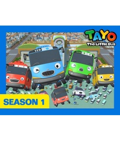 Tayo The Little Bus Season 1 Set 2 Disc.