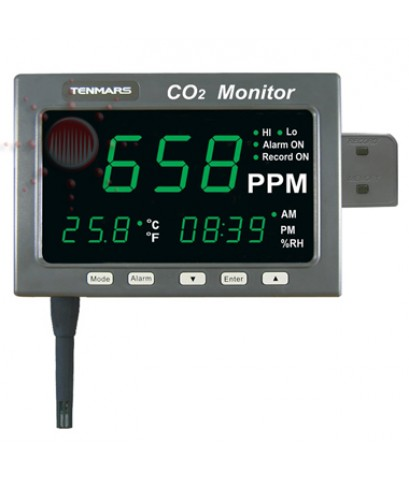 เครื่องวัดก๊าซ CO2, Humidity and Temperature Meter, Tenmars รุ่น TM-187