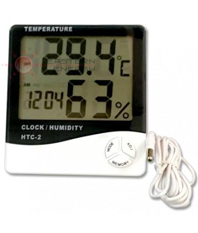 เครื่องวัดอุณหภูมิ ภายใน/ภายนอก In/out door Thermo-Hygrometer รุ่น HTC-2