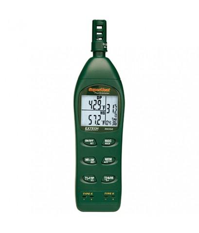 เครื่องวัดอุณภูมิ ความชื้น Dual Input Hygro-Thermometer Psychrometer รุ่น RH350