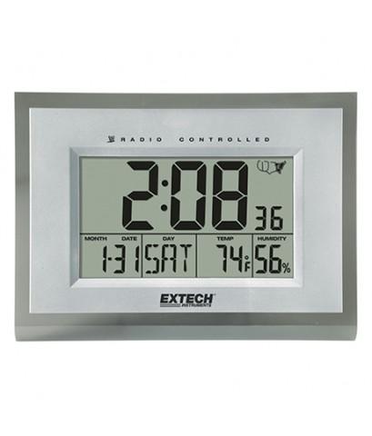 Digital Clock/Hygro-Thermometer นาฬิกาขนาดใหญ่ 9นิ้ว x 12นิ้ว รุ่น 445706