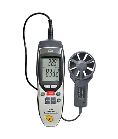 เครื่องวัดความเร็วลม CFM/CMM Thermo-Anemometer รุ่น DT-850