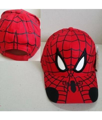 หมวกแก๊ป สไปเดอร์แมน Spiderman ด้านหลังปรับได้อีก (เด็กโต )