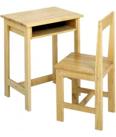 โต๊ะและเก้าอี้นักเรียนเดี่ยว