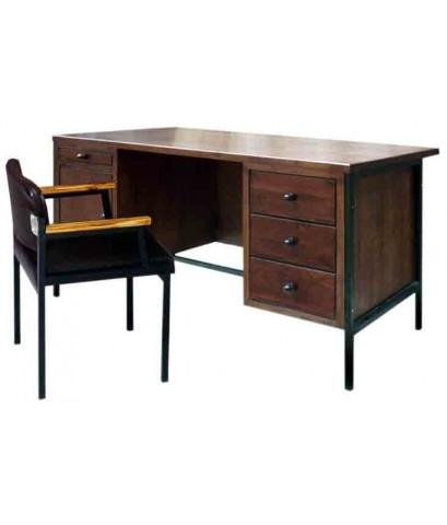 โต๊ะทำงานข้าราชการระดับ 7-9 พร้อมเก้าอี้