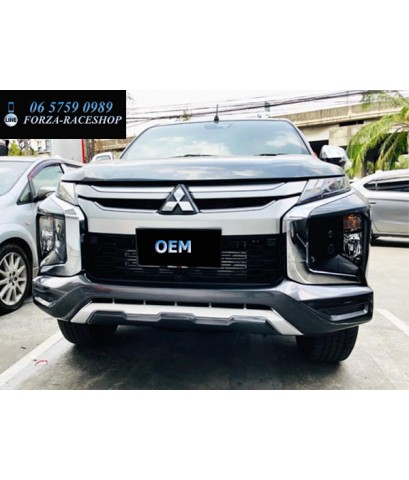 ชุดแต่งกันชนหน้า Mitsubishi Triton OEM - มิตซูบิชิ ไทรทัน 2019