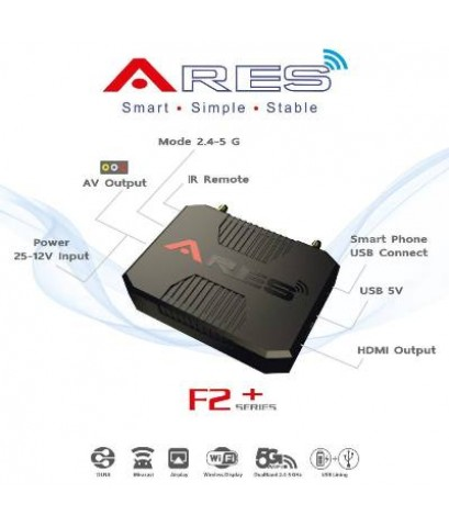 ARES F2+ (Wi-Fi) (iOS, Android, Windows)