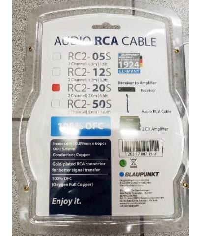 Blaupunkt RC2  (สายสัญญาณ RCA เกรด A )