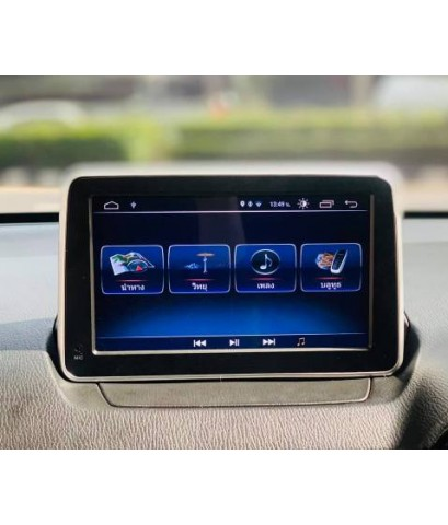 Alpha coustic  จอ Android ตรงรุ่นรถ MAZDA2