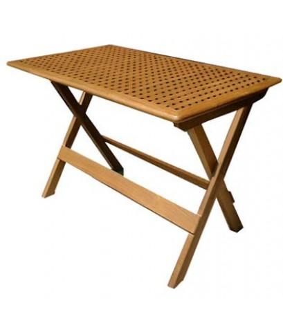 โต๊ะพับ ตาราง W65*L105*H75