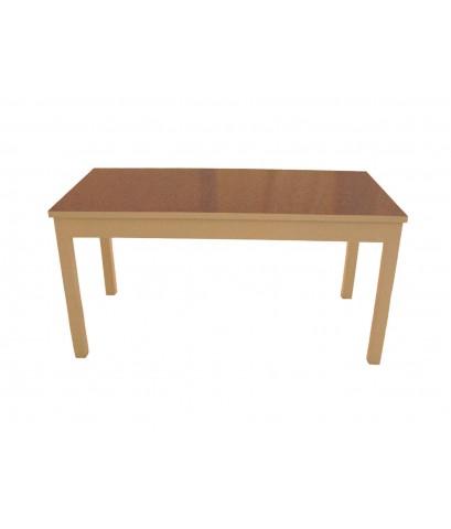 โต๊ะขาเหลี่ยม 5 ฟุต