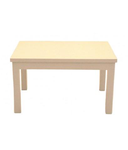 โต๊ะ 4 ฟุต ขาเหลี่ยม