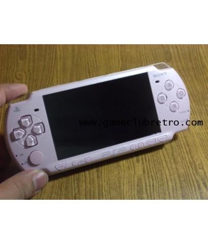 PSP 2000 Pink  เครื่องเปล่า + adaptor  เล่น ISO ได้เลย + mem 2 กิ๊ก
