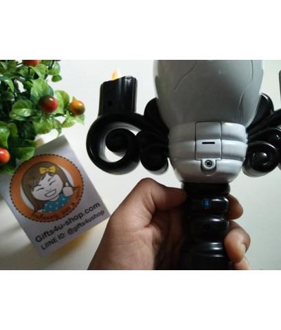 1 อัน ไฟ LED เชิงเทียนหัวกะโหลก เปลวไฟ เปลวเทียนจากหลอดไฟ LED อุปกรณ์ตกแต่งปาร์ตี้ฮาโลวีน Halloween