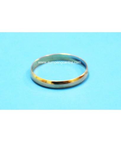 แหวนชุบ สีทอง