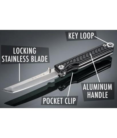 พวงกุญแจ Pocket Samurai keychain knife - Red