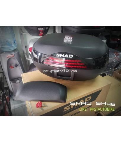 SHAD SH46 Topbox / กล่องท้ายรถมอไซค์ขนาด 46 ลิตร