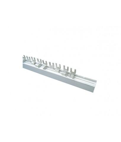 บัสบาร์รุ่นก้ามปูสำหรับตู้สวิทซ์ตัดไฟฟ้าอัตโนมัติ Fork Type Busbar for Consumer Units-HACO-BB-F4