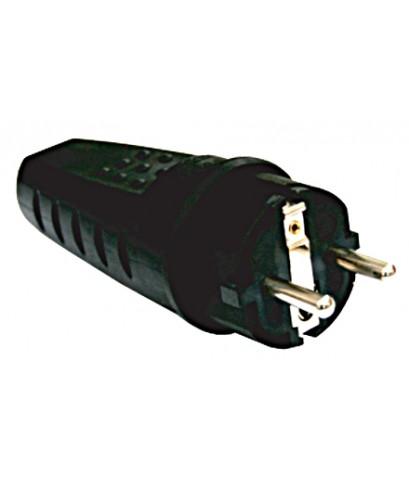 ปลั๊กเสียบตัวผู้และเต้ารับต่อกลางทาง(เยอรมัน) IP20,IP44 SCHUKO Plug and Connector to Din 49440-HACO-