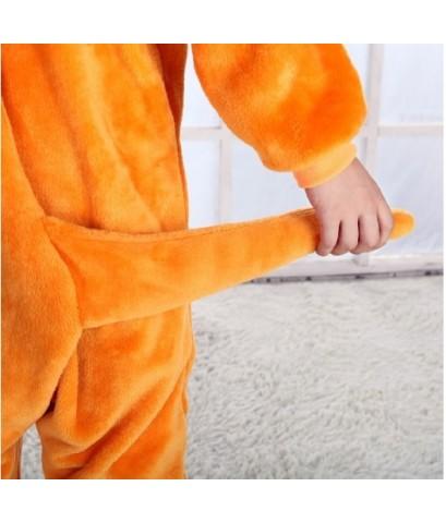 (ข อ ง ห ม ด ค่ะ) ชุดนอนสัตว์ ชุดนอนมาสคอต ชุดจิงโจ้ ผ้านิ่ม size105 ขนาดเด็กสูง 115-125 cm