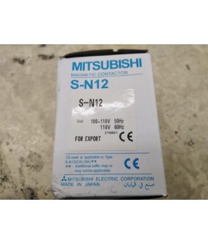 MITSUBISHI TYPE SN-12(100VAC) ราคา 501 บาท