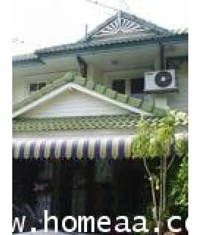 บ้านแฝด 2 ชั้น หมู่บ้านพฤกษา12 ถ.เลียบคลองสาม เนื้อที่ 35 ตร.วา รังสิตคลอง3 พร้อมอยู่