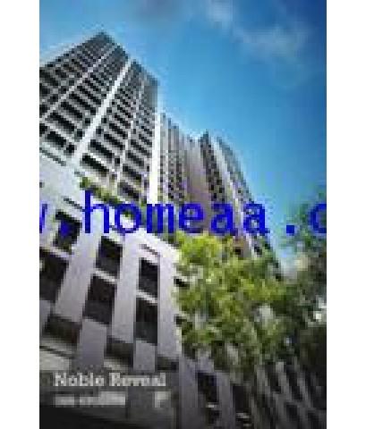 คอนโดมิเนียม Noble Reveal ชั้น16 เนื้อที่ 48.68 ตร.ม. สุขุมวิท63 เอกมัย พร้อมอยู่