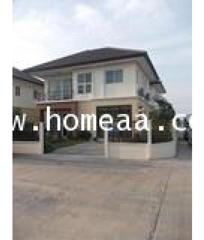 บ้านเดี่ยว 2ชั้น (มุม) ม.จิรกานต์2 บางบัวทอง-ไทรน้อย เนื้อที่ 50.50 ตร.วา ไทรน้อย นนทบุรี