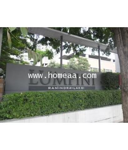 คอนโดมิเนียม  ลุมพินีเพลส รามอินทรา-หลักสี่ (วิวสระว่ายน้ำ) ชั้น4 อาคารF เนื้อที่ 34.58 ตร.ม. บางเขน