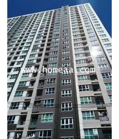 คอนโดมิเนียม Aspire พระราม4 ชั้น15 อาคารB เนื้อที่ 46 ตร.ม. พระโขนง คลองเตย พร้อมอยู่ (C0992)