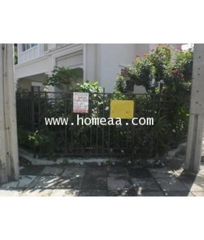 บ้านเดี่ยว 2 ชั้น (มุม) ม.The Centro รามอินทรา เนื้อที่ 53.80 ตร.วา คันนายาว พร้อมอยู่ (H1751)