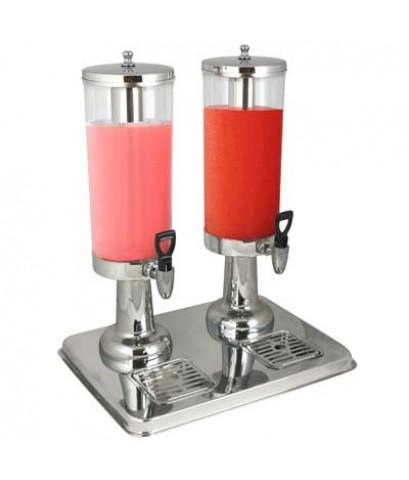 เครื่องจ่ายน้ำผลไม้/นมสด 2 x 3 ลิตร 1602-056