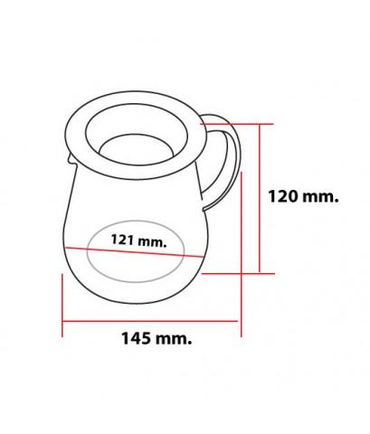 โถแก้วทำกาแฟดริป 600 ml. ชงกาแฟแบบหยดน้ำ 1610-327