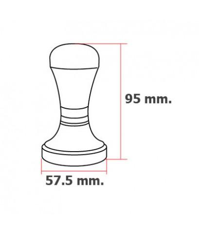 แทมเปอร์ สแตนเลส ด้ามสีส้ม 57.5 mm.1610-328-C10
