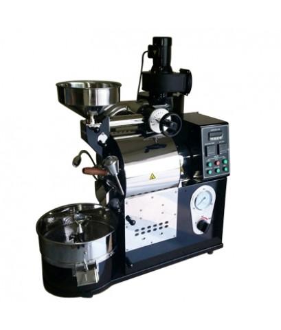 เครื่องคั่วกาแฟ 1 กิโลกรัม แก๊ส มีระบบเชื่อมต่อคอมพิวเตอร์เพื่อควบคุมการคั่ว 1614-113