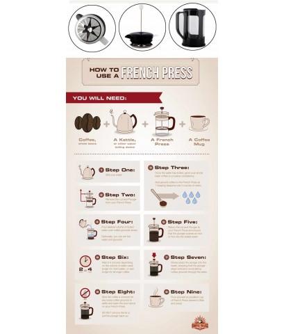 หม้อชงกาแฟเฟรนช์เพรส 600 มล. 1610-490