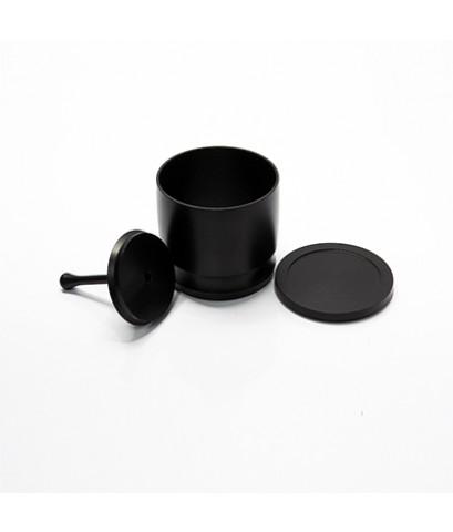 แก้วโดสครอบด้ามชง Blind tumbler (แก้วน้ำตาบอด) ตัวช่วยโดส อลูมิเนียม 1610-516