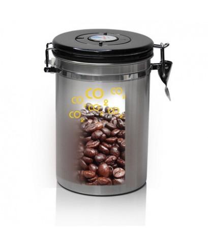 โถเก็บเมล็ดกาแฟ สูญกาศ กันความชื้น 700 กรัม 1610-576