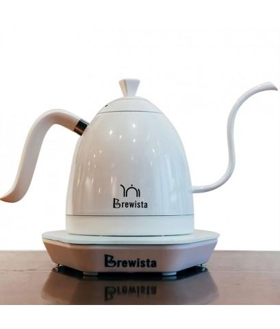 กาต้มน้ำคอห่าน Brewista ต้มตามอุหณภูมิที่กำหนด 600 ml. สีขาว 1614-176-C05
