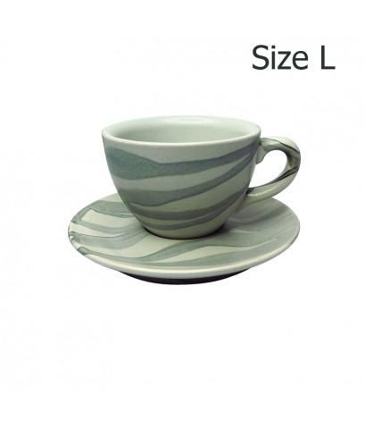 ถ้วยกาแฟ 210 CC. (Size L) ถ้วยกาแฟ ลาย X1 1618-061