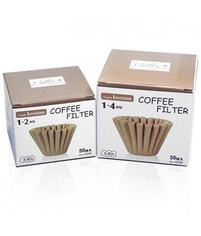 กระดาษกรองกาแฟ Koonan ทรงคัพเค้ก 1-2 ถ้วย 1610-719