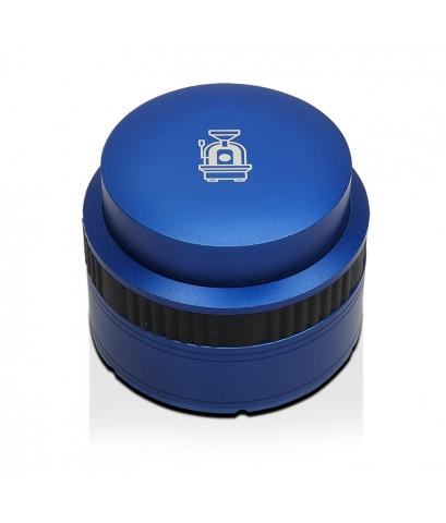 แทมเปอร์สปริง มาการอง Apresso Ø58 mm หน้าเรียบ สีน้ำเงิน 1610-689-C08