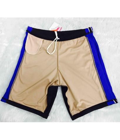 กางเกงว่ายน้ำขาสั้นผ้าLycra เกรดพรีเมียม