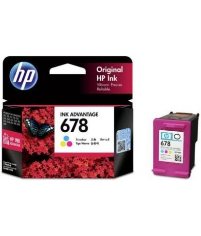 ตลับหมึกอิงค์เจ็ต HP 678 CO หมึกสี